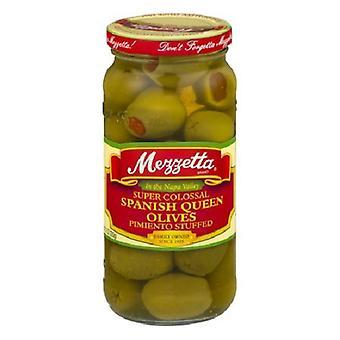 Mezzetta Super Colossal Espanjan kuningatar oliivit