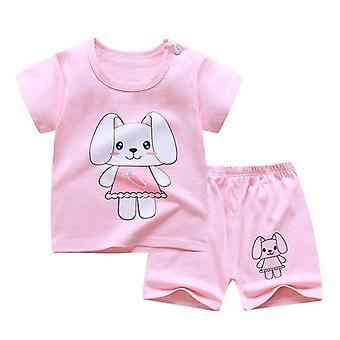 Boy Kids Dinosaur Cartoon Spædbarn tøj, Billige Stuff Soft Shorts Suit T-shirt