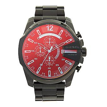 Diesel DZ4318 Mega Chief Blue & Red Dial Chronograph Men's Watch