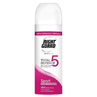 Right Guard 6 X Right Guard Total Defence Deodorant For Her - Sport