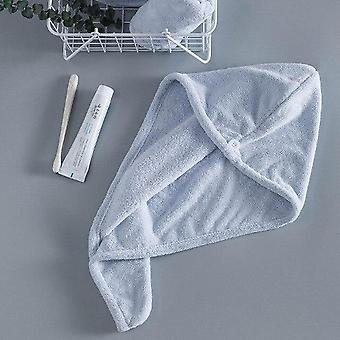 Frauen Badezimmer Mikrofaser Schnell trocknende Haar Badetücher