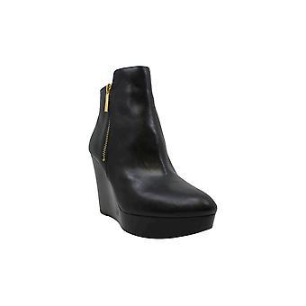 Michael Michael Kors Womens Alane Leather Closed Toe Ankle Fashion Boots