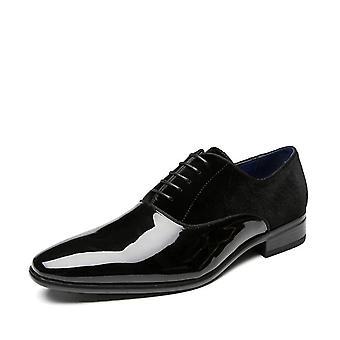 ModeBüro Schuhe Hochwertige Patent Leder bequeme formale Schuhe