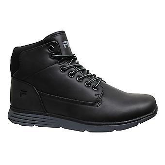 Fila Lance Mid Black Lace Up Casual Winter Herren Stiefel 1010146 12V