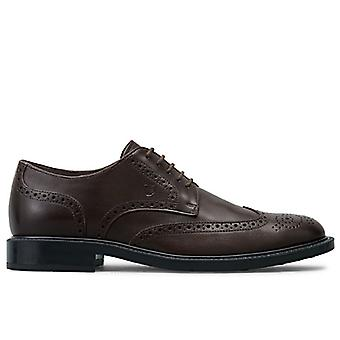 Derby String Shoe Tod-apos;s Brown With Holes