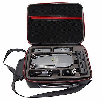 Rantow waterproof hardshell case box for dji mavic pro drone black hard shoulder bag carry case suit