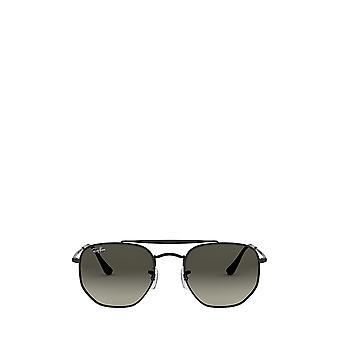 راي بان RB3648 نظارات شمسية سوداء للجنسين