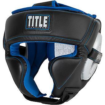 Titre boxe formation périlleuse platine coiffures - Black/Silver/Blue