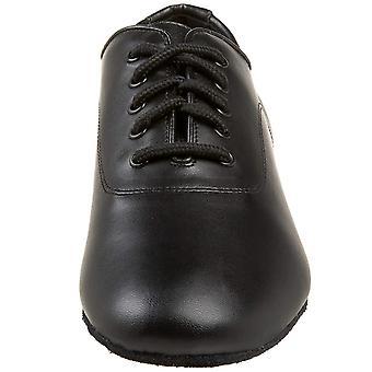 Capezio Men's Shoes Social Dance Leather Low Top Lace Up Dance Shoes