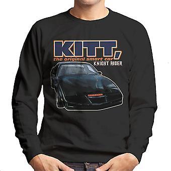 Knight Rider KITT Den ursprungliga Smart Car Men & apos, s Tröja