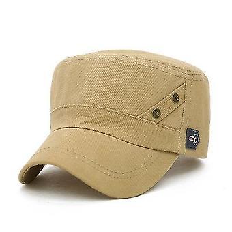 Militärische Hüte klassische Flache Hut Snapback Baseball Caps