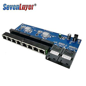 Media Converter Fiber Optical Gigabit Ethernet Switch