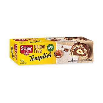 Tempties, Chokolade hasselnød bider 42 g