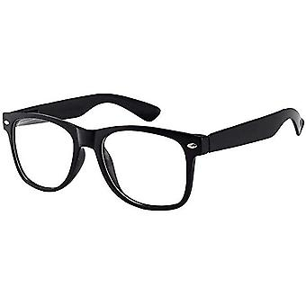 Kinder Nerd Brille klar Objektiv Geek Fake für Kostüm Kinder's (Alter 3-10) schwarz