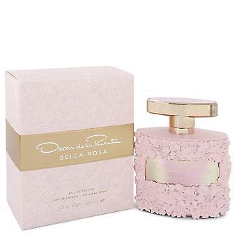 Bella Rosa Eau De Parfum Spray par Oscar De La Renta 3.4 oz Eau De Parfum Spray