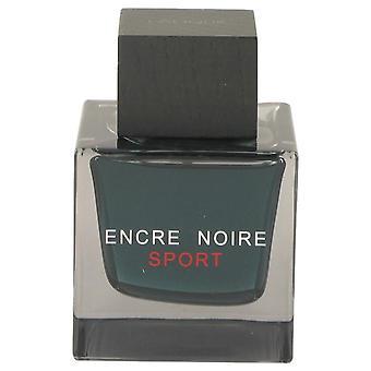 Encre Noire Sport Eau De Toilette vaporizador (probador) por Lalique 3.3 oz Eau De Toilette Spray