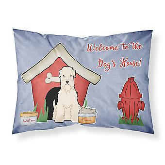 Caroline's Treasures Dog House Collection Soft Coated Wheaten Terrier Tessuto Standard Federa Bb2815Pillowcase, Multicolor
