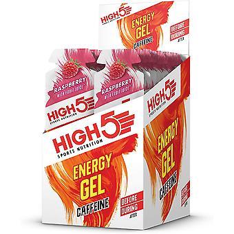 High 5 Energy Gel + Koffein - 20 Pack