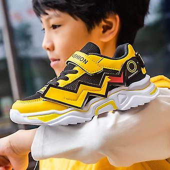 Children's Casual Shoes, Four Seasons, Kid Sneakers, Breathable, Mesh Soft Sole