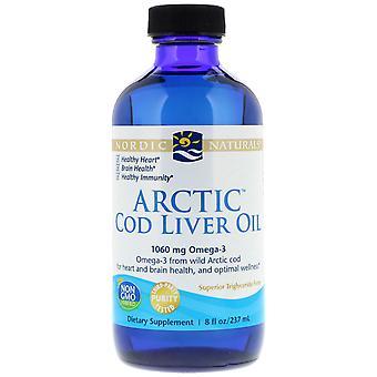 Nordic Naturals Arctic Cod Liver Oil 237 ml