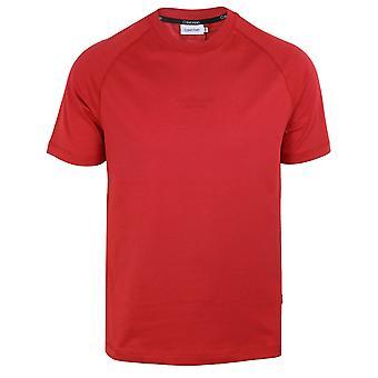 Calvin klein men's true rose centre logo t-shirt