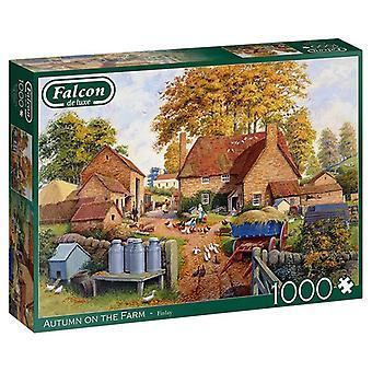 Falcon de luxe Jigsaw Puzzle 1000 pieces Autumn on the Farm