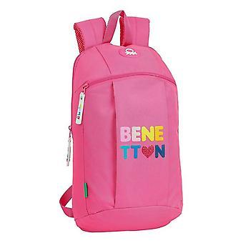 Borsa bambino Benetton Heart Pink