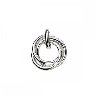 بدايات الجنيه الاسترليني الفضة الثلاثي عقدة قلادة P4756