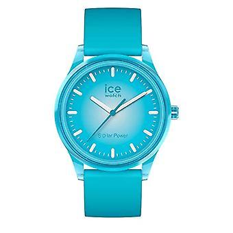 Ice-Watch - Ice Solar Power Sininen planeetta - Unisex Watch silikonihihnalla - 017769, Keskikokoinen, Sininen