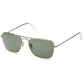 Ray-Ban RB 3136 Sonnenbrille, Gold (Gold), 58 mm Unisex-Erwachsene