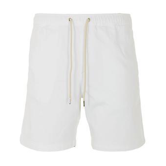 NN07 Gregor Sustainable Drawstring Shorts - White