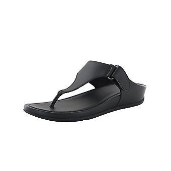 Scarpe sandalo Fitflop Donna Vera Toe Thong Faux Leather