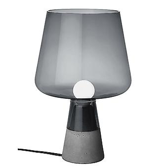 Modern simple personality cement lamp, 220V smoky gray home living room bedroom personality bedside