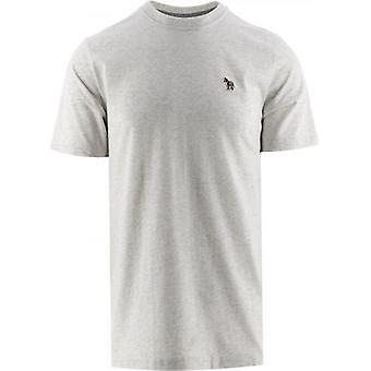 Paul Smith Grey Slim Fit Zebra T-Shirt