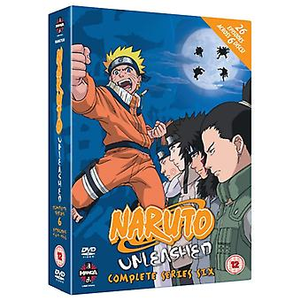 Naruto Unleashed Complete Series 6 DVD