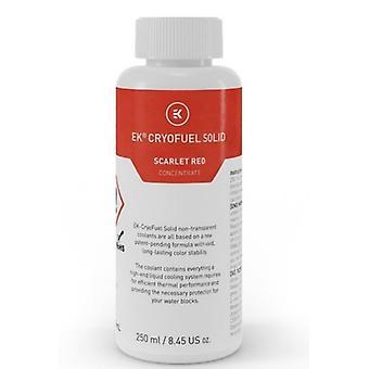 Bloques de agua EK-CryoFuel Sólido Rojo Escarlata 250ml Concentrado