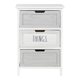 Commode DKD Home Decor Choses Paolownia bois (40 x 29 x 58 cm)