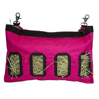 Hay Bag Hanging Pouch Feeder Holder
