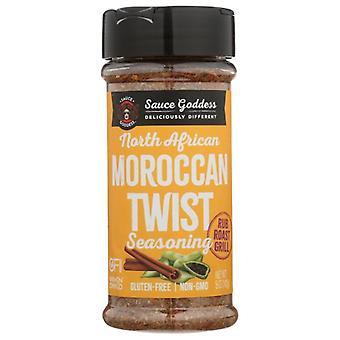 Sauce Goddess Spice Moroccan Twst Shake, Case of 6 X 5 Oz