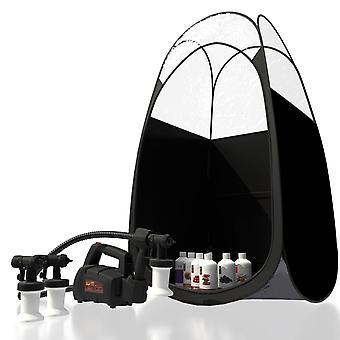 Maximist Spraymate TNT Kit - 2 heads - Suntana Trial - Black Tent