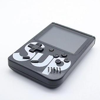 Retro kannettava mini kädessä pidettävä videopelikonsoli 8-bittinen 3,0 tuuman väri lcd lapset väri pelisoitin sisäänrakennettu 400 pelejä