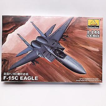 new 80421 usa f-15c fighter military plastic assembly aircraft model sm47512