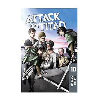 Attack on Titan 10 Paperback