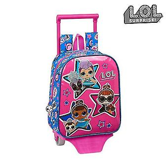 School Rucksack with Wheels 805 LOL Surprise! Together