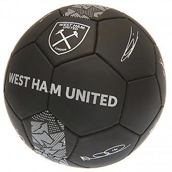 West Ham United Football Signature PH