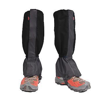 1 Pair gaiters hiking leggings waterproof leg warmers shoe covers zippered closure gaiters biking snowboarding