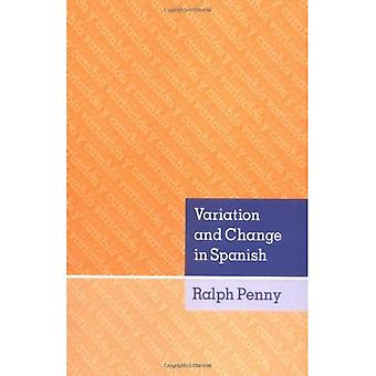 Variation and Change in Spanish