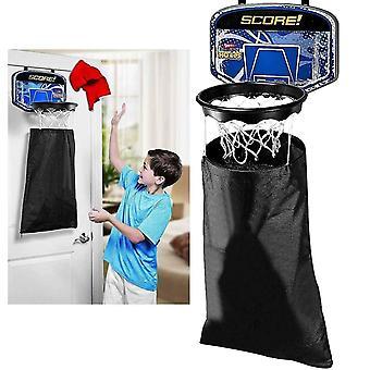 Kabalo Barn över dörren Korg Sovrum Tvätt Basket Hoop Net Hängande Slam Dunk