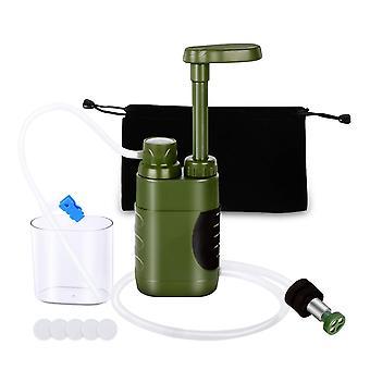Purificateur d'eau extérieur portable sécurité personnelle filtre à eau d'urgence mini filtre filtre activités extérieures