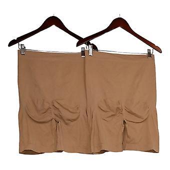 Rhonda Shear Shaper Plus Set Of 2 Thigh Shaper Boy Short Bege 645606